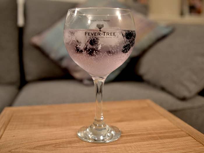 Glass of Boe Violet