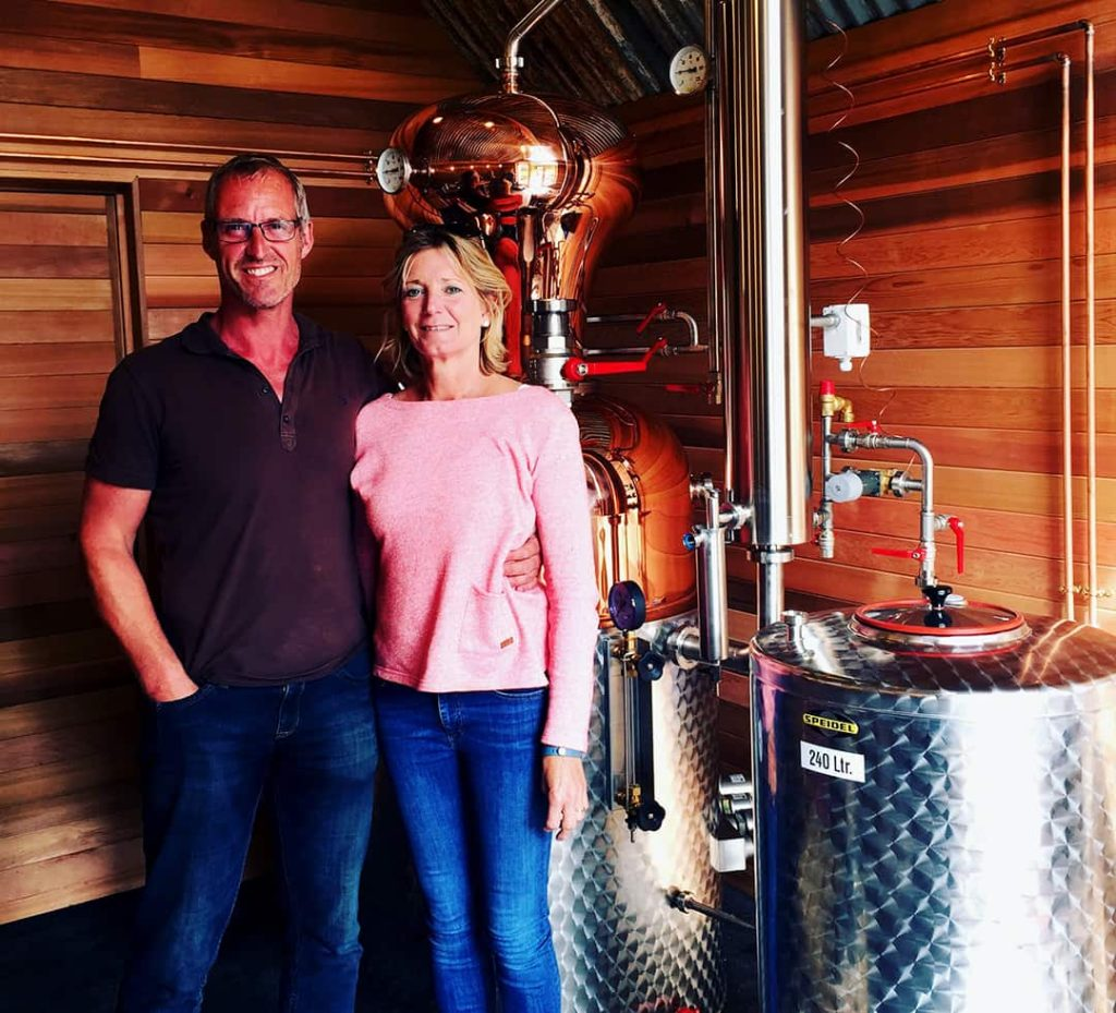 Jamie and Nichola Jarrold, founders of Jarrold's GIn