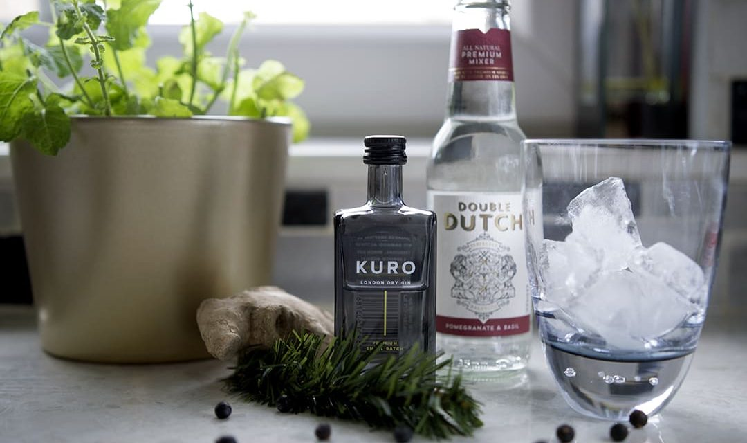 KURO Gin Perfect Serve