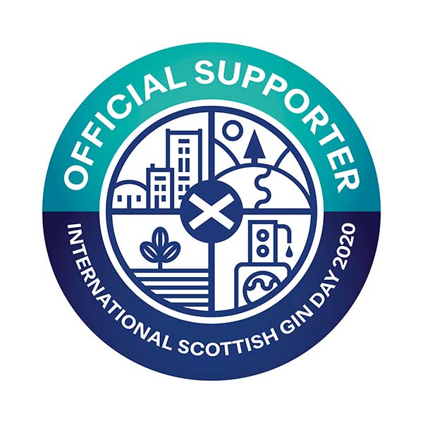 Official Supporter International Scottish Gin Day 2020