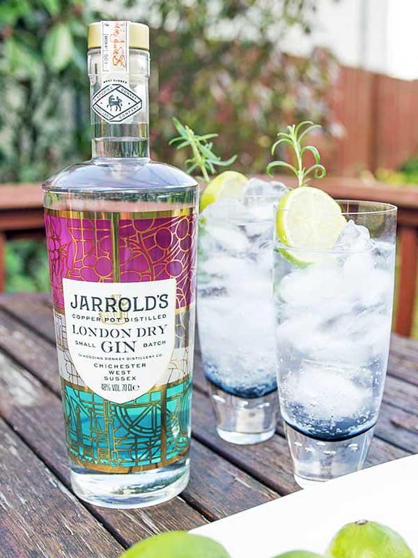 Jarrold's Gin bottle,