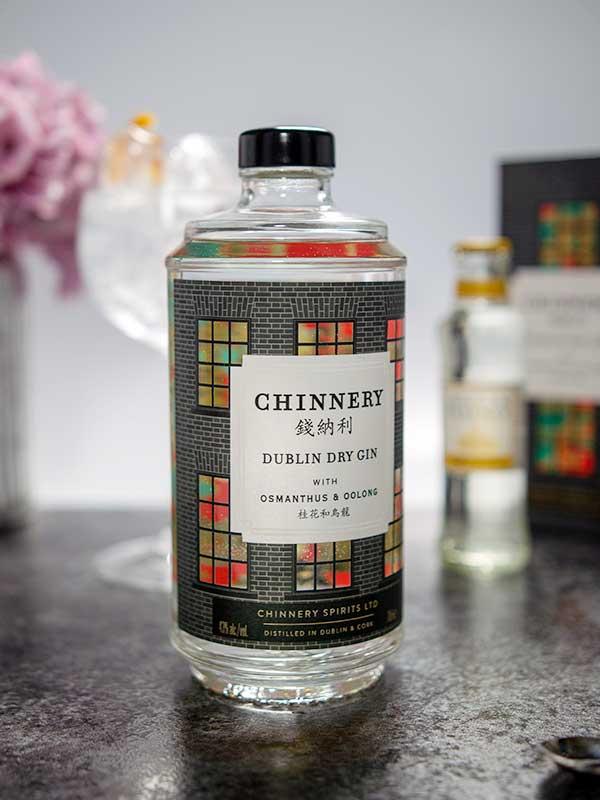 Chinnery Gin bottle.