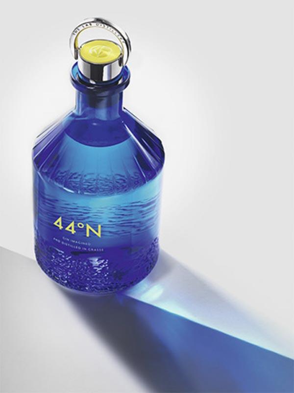 44°N Gin bottle.